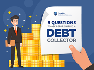 hiring a debt collector