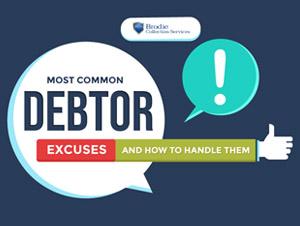 Common Debtor Excuses
